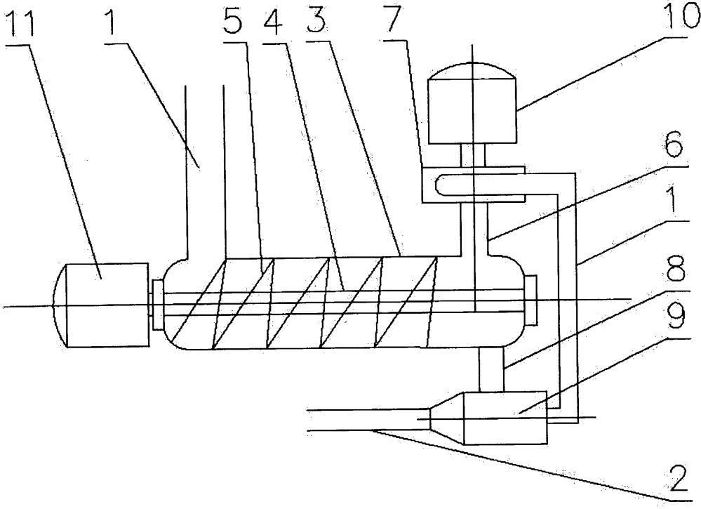 Устройство для гидротранспортирования сыпучих материалов