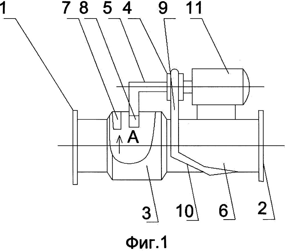 Агрегат для гидротранспортирования сыпучих материалов