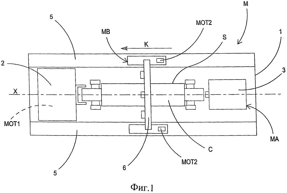 Установка для поверхностной обработки цилиндра и способ поверхностной обработки цилиндра