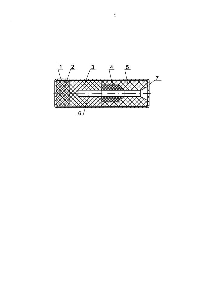 Заряд-усилитель для трансляторов детонации бортовой автоматики летательных аппаратов