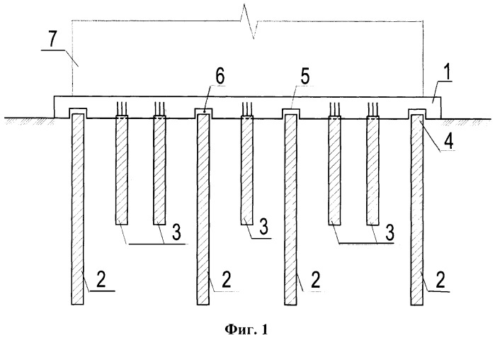 Method for pile and slab foundation construction in for Slab foundation definition