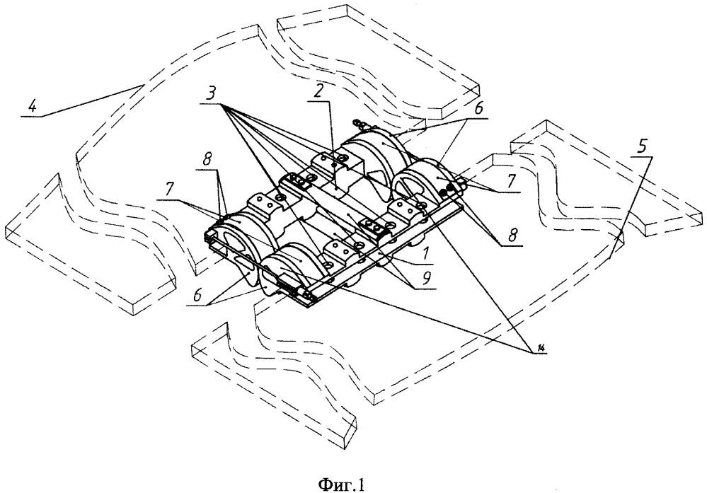 Устройство развертывания трансформируемых механических систем космического аппарата