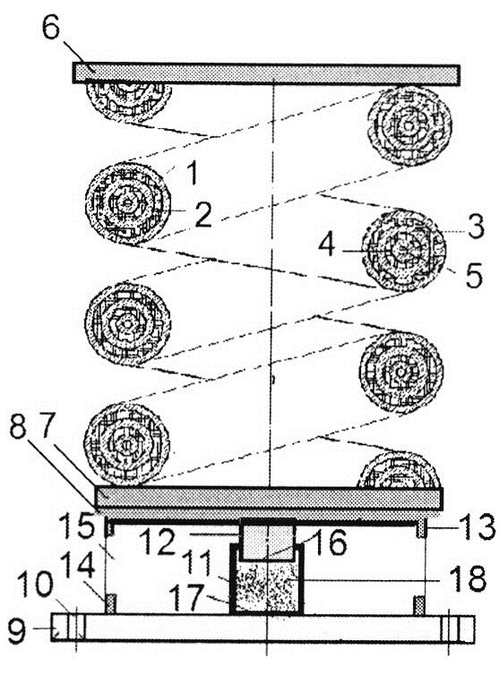 Виброизолятор кочетова с повышенным демпфированием