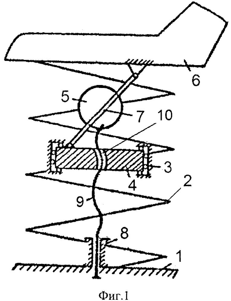 Инерционный виброизолятор