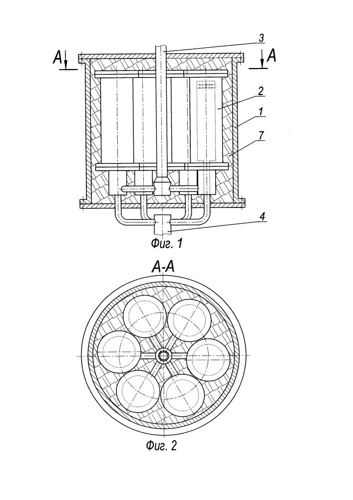 Кожухотрубный каталитический реактор