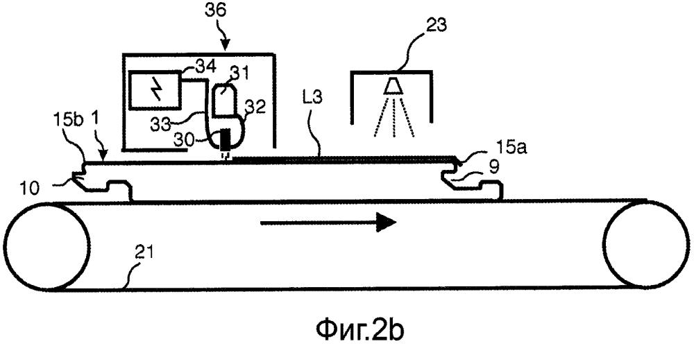 Способ нанесения покрытия на строительную панель методом цифровой печати или цифрового покрытия