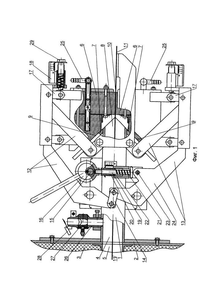 Герметизирующий затвор к проходной печи для непрерывной термической обработки химического волокна при изготовлении углеродного волокнистого материала
