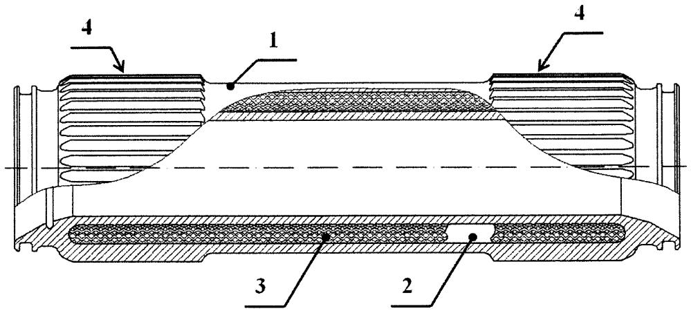 Элемент трансмиссии турбомашины
