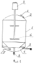 Способ и устройство для получения высокомодульного жидкого стекла как связующего для цинксиликатных составов