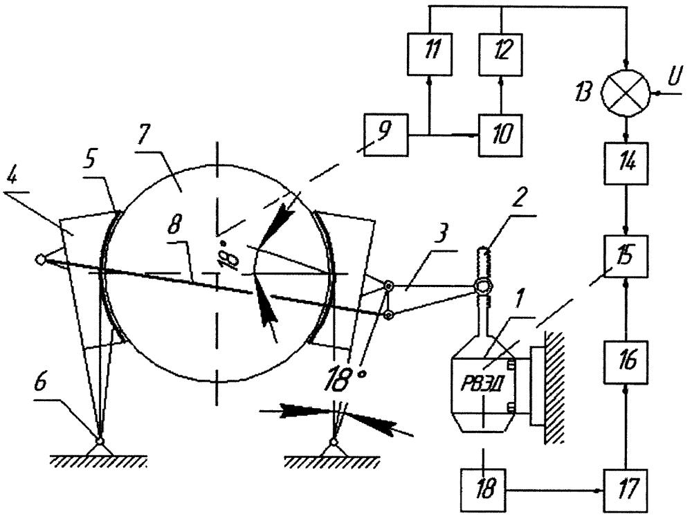 Электромеханическая система торможения подъемной установки