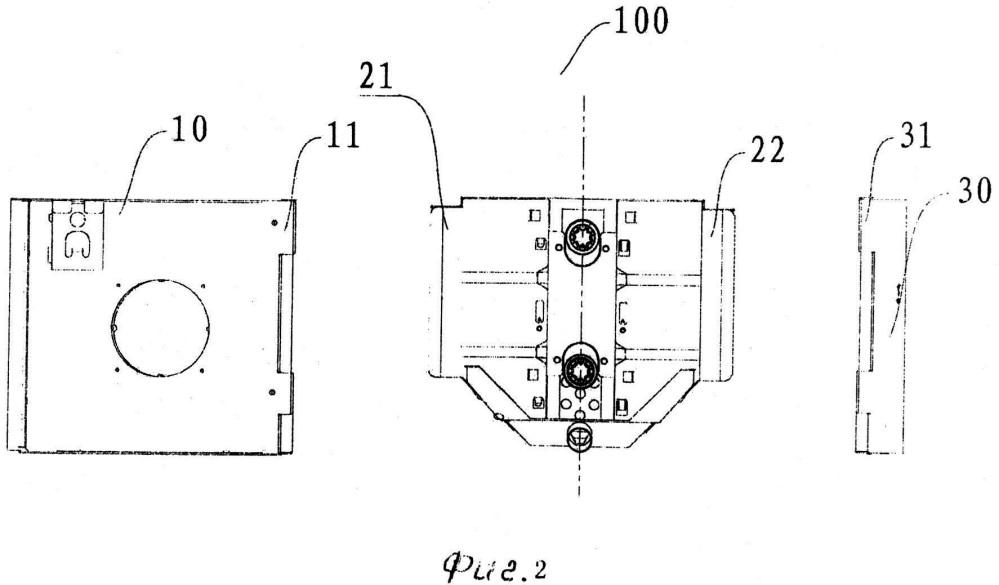 Блок вентиляторного теплообменника и кондиционер воздуха, содержащий такой блок