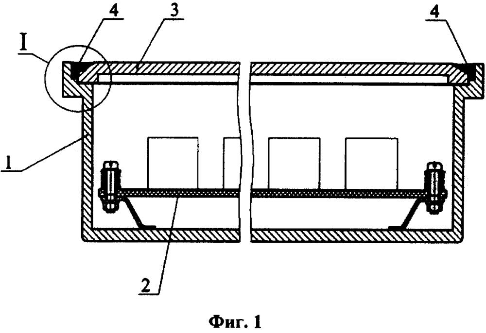 Герметичный радиоэлектронный блок