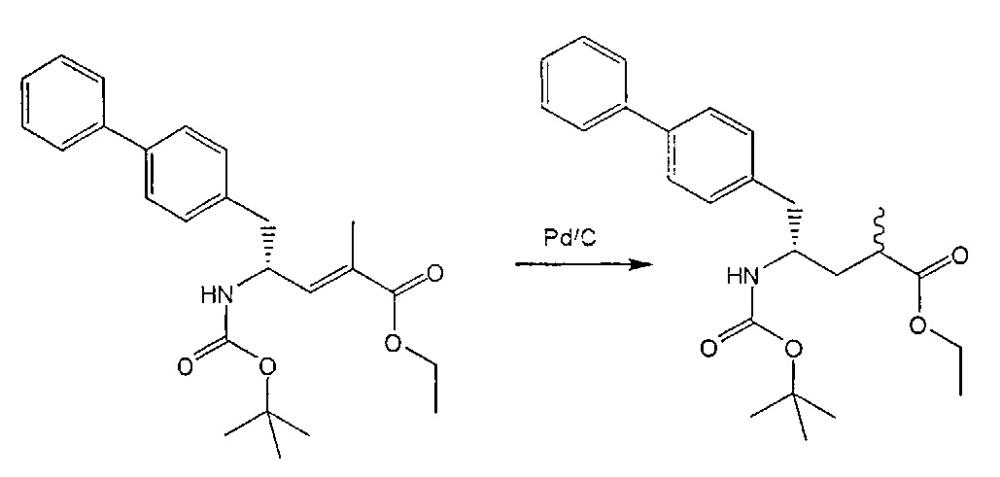 Способ и промежуточные соединения для получения производных 5-бифенил-4-ил-2-метилпентановой кислоты