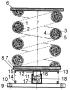 Виброизолирующая система кочетова с повышенным демпфированием