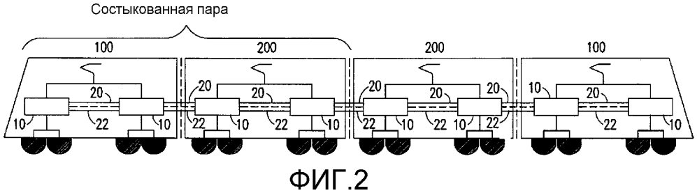 Термически оптимизированная тормозная система железнодорожного транспортного средства