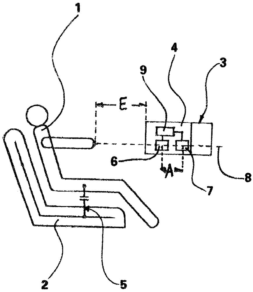 Управляющее устройство органа управления в транспортном средстве