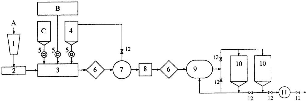 Линия для получения тонкодисперсной водоугольной суспензии