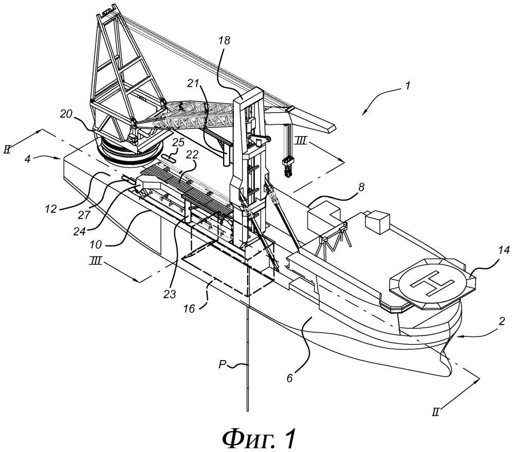 Многофункциональное трубоукладочное судно