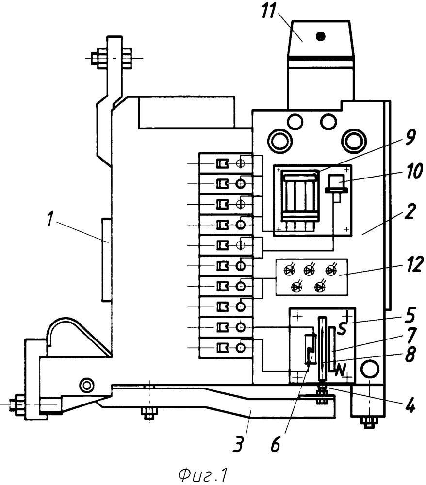 Контактор трехполюсный вакуумный квк