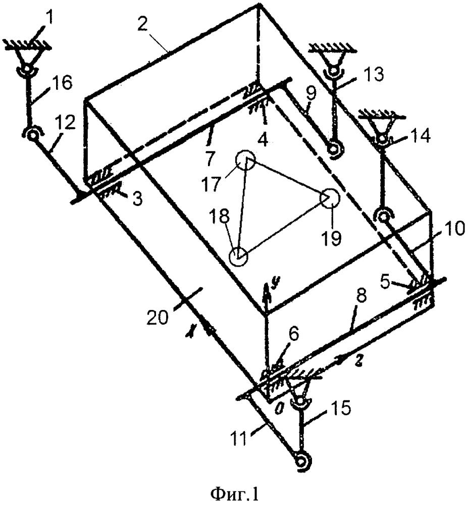 Виброизолирующая система кочетова торсионного типа