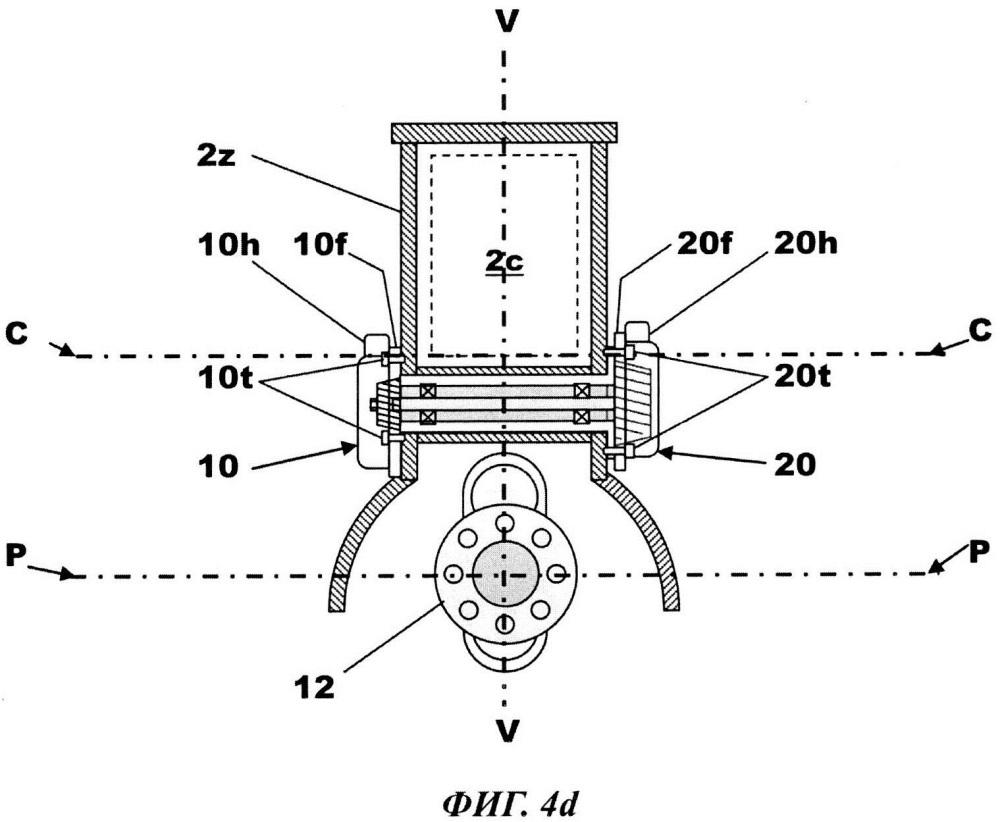 Подшипниковый узел раздельного турбокомпрессора