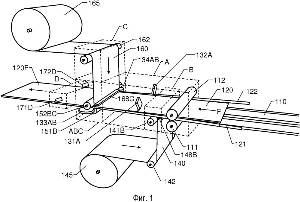 Машина и способ изготовления строительной панели