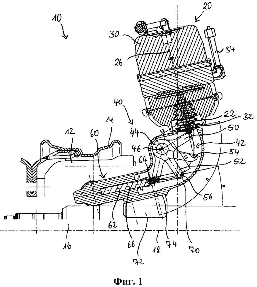 Управляющее устройство для тормозного механизма