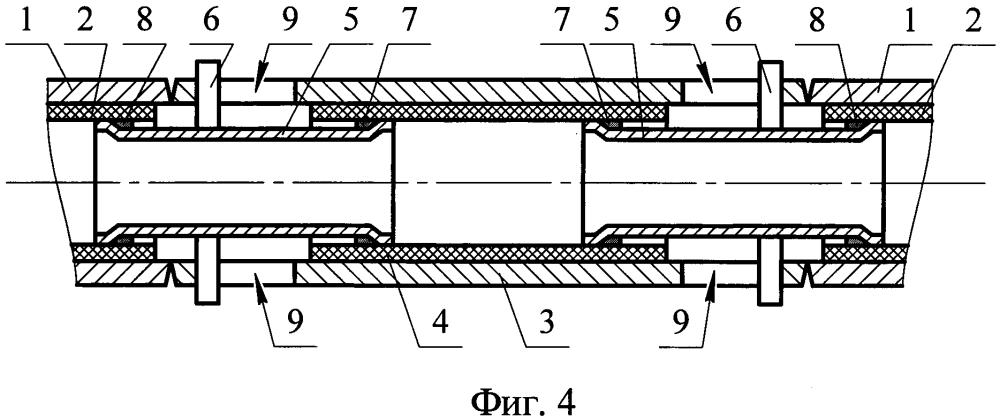 Способ защиты внутренней зоны соединений труб с внутренним покрытием (варианты)