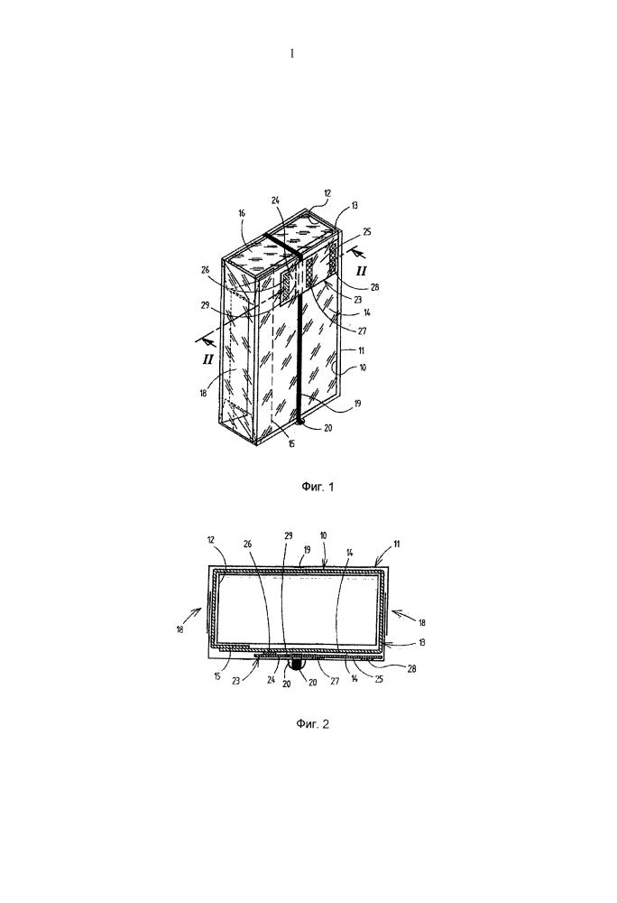 Сигаретная упаковка и способ ее изготовления (варианты)