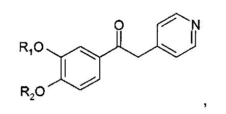 Производные 1-фенил-2-пиридинил-алкиловых спиртов в качестве ингибиторов фосфодиэстеразы