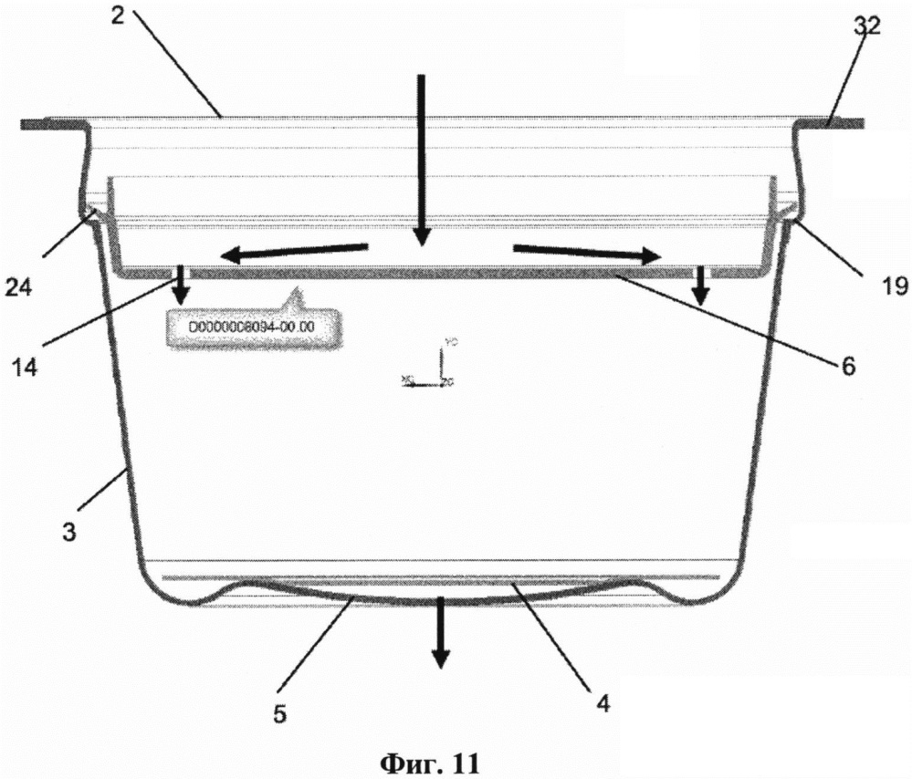 Порционная капсула, содержащая распределитель жидкости