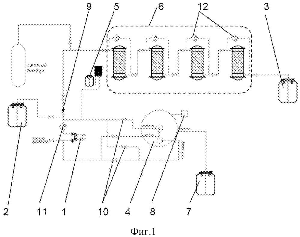Установка для комплексной переработки жидких радиоактивных отходов