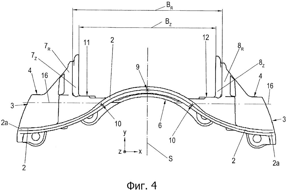 Дисковый тормоз и комплект тормозных накладок дискового тормоза
