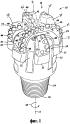 Режущие элементы бурового долота с закрепленными резцами, содержащие твердые режущие пластины, выполненные из синтетических алмазов, сформированных химическим осаждением из паровой фазы