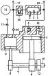 Способ обеспечения действия тандемного двухтактного двигателя энергией продуктов сгорания из общей внешней камеры сгорания и энергией сжатого воздуха из общего пневмоаккумулятора