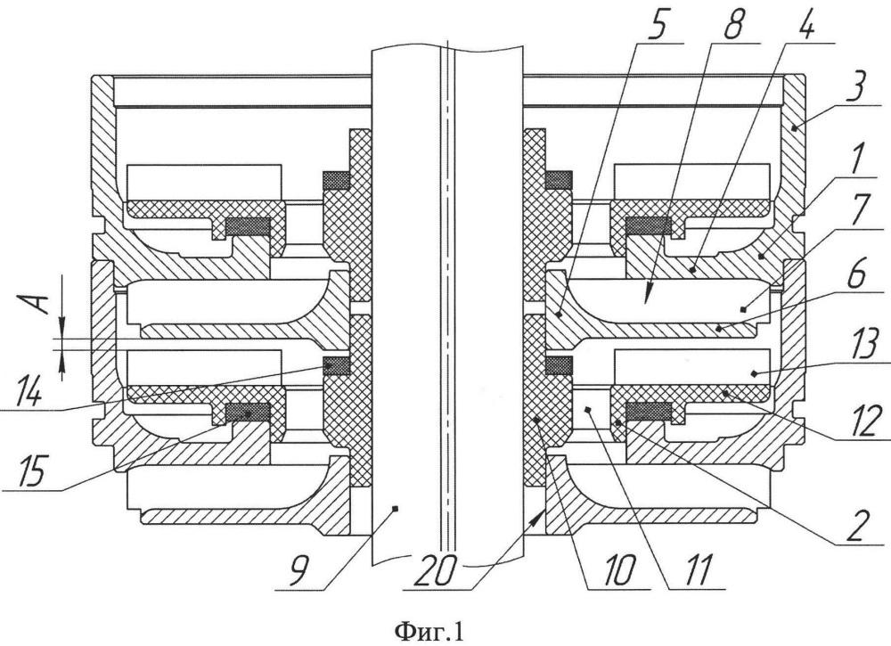 Ступень погружного мультифазного насоса (варианты)
