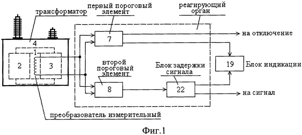 Устройство защиты обмоток однофазного трансформатора от повреждений