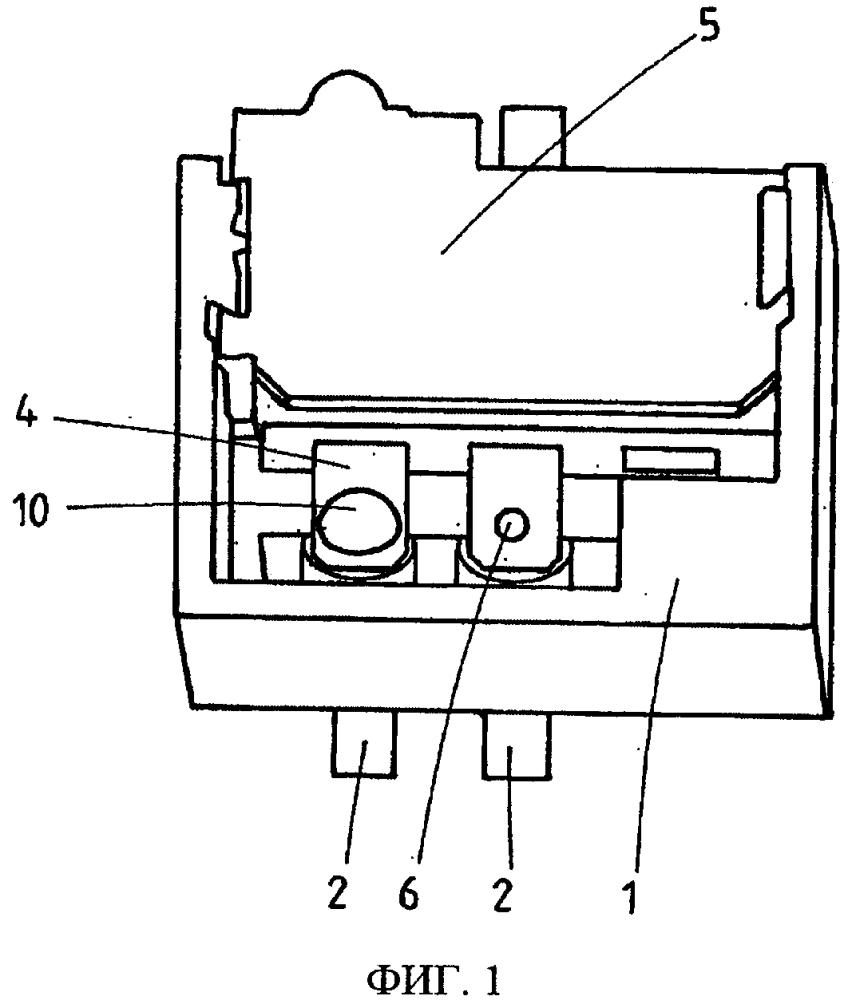 Способ соединения электрического компонента с носителем электрического компонента и устройство