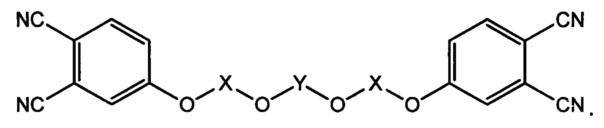 Модифицированный фосфорорганическими фрагментами мономер фталонитрила, способ его получения, связующее на его основе и препрег