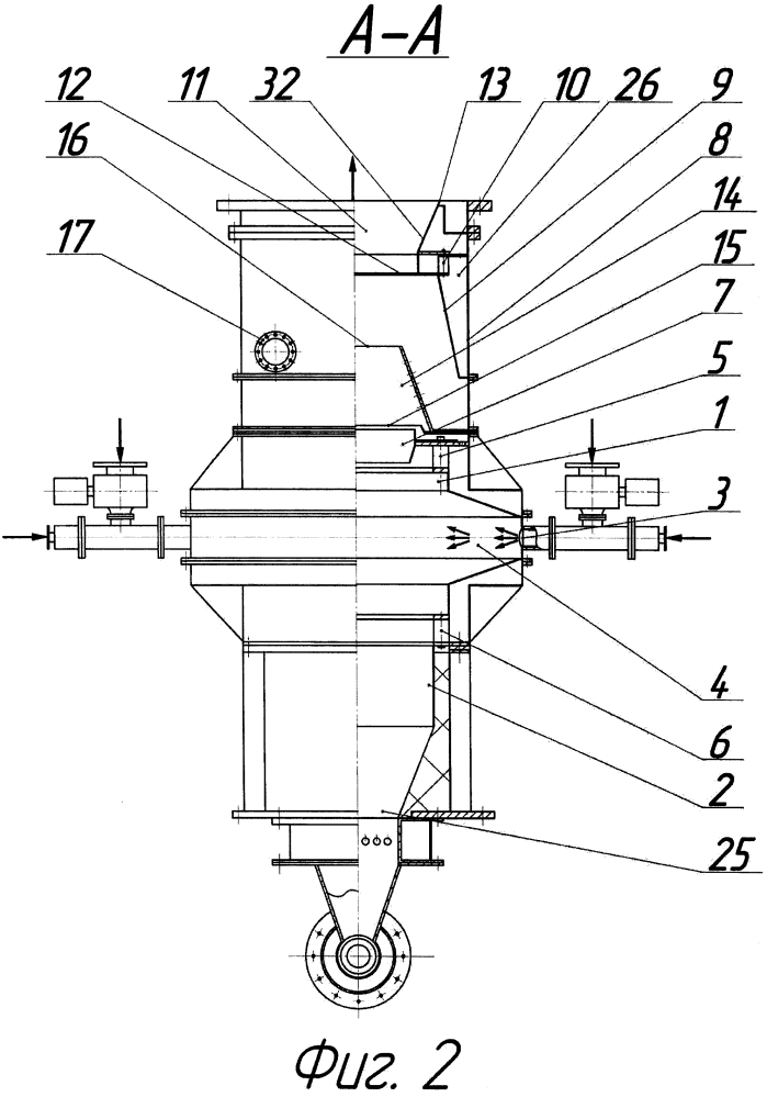 Способ сжигания измельчённого твердого топлива и устройство для его осуществления