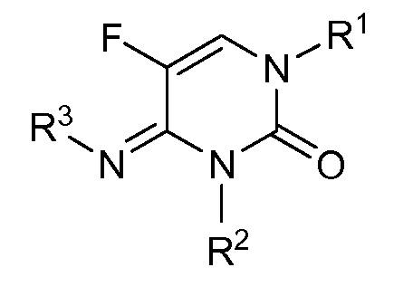 Производные n-(замещенного)-5-фтор-4-имино-3-метил-2-оксо-3,4-дигидропиримидин-1(2н)-карбоксилата