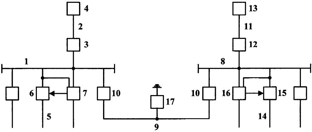 Подстанция трехфазного переменного тока