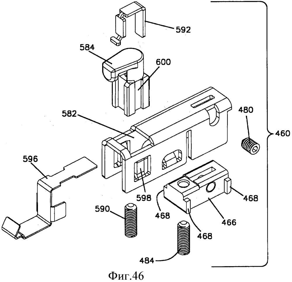 Зажим для кабеля и корпус для телекоммуникаций