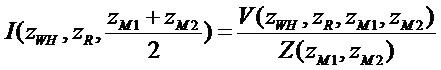 Определение расстояния при помощи профилирования тока