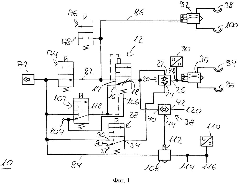 Стояночная тормозная система с возможностью электрического приведения в действие для пневматического тормозного устройства и способ эксплуатации стояночной тормозной системы с возможностью электрического приведения в действие