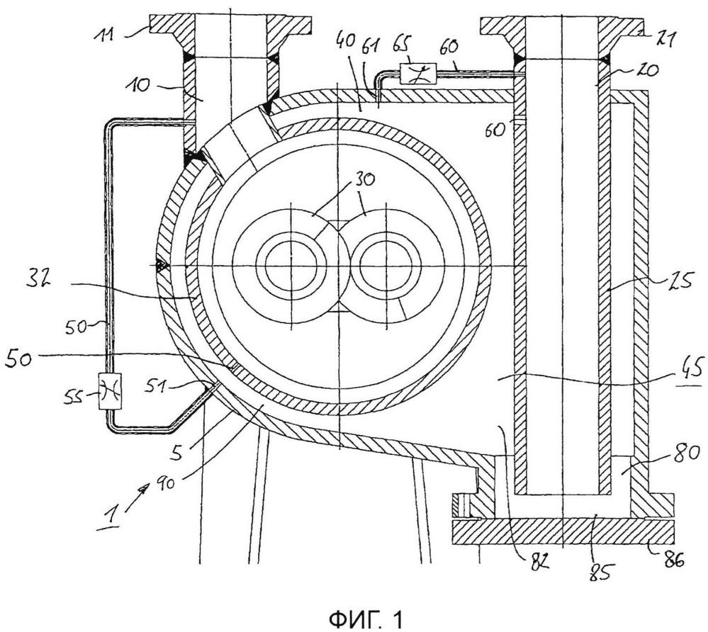 Способ работы многофазного насоса и его устройство
