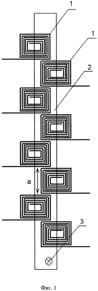 Блок катушек индуктивности с постоянным магнитом