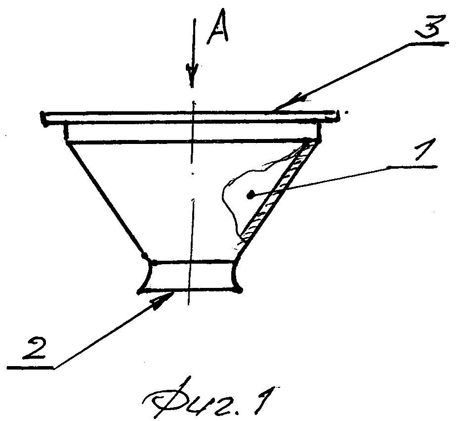 Ванночка для проведения ультразвукового биомикроскопического исследования переднего отрезка и периферических структур глаза