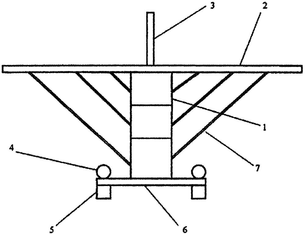 Способ изготовления модели многоэтажного самолёта