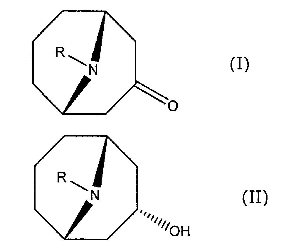 Способ получения производного эндо-9-азабицикло[3.3.1]нонан-3-ола